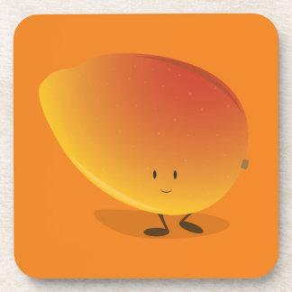 微笑のマンゴのキャラクター コースター