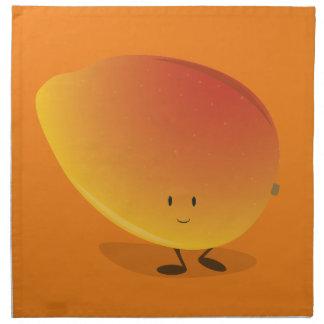 微笑のマンゴのキャラクター ナプキンクロス