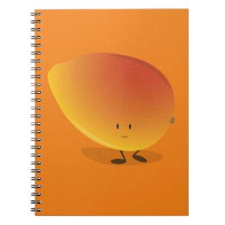 微笑のマンゴのキャラクター ノートブック