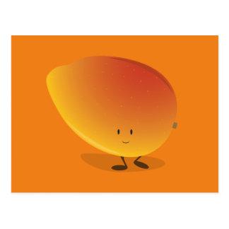 微笑のマンゴのキャラクター ポストカード