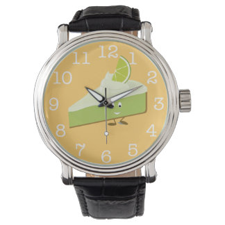 微笑のライムパイ切れ 腕時計