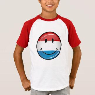 微笑のルクセンブルクは印を付けます Tシャツ