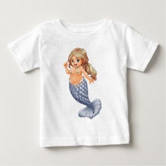 微笑の人魚 ベビーTシャツ