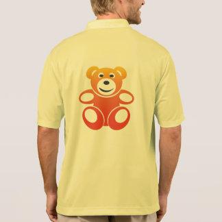 微笑の夏のテディ ポロシャツ