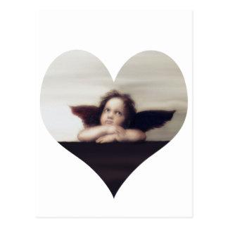 微笑の天使の天使 ポストカード