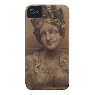 微笑の女神の石造りの彫像のiPhoneの場合 Case-Mate iPhone 4 ケース