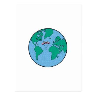 微笑の惑星の地球 ポストカード