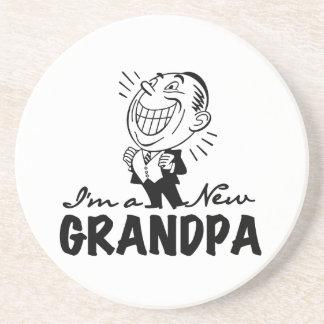 微笑の新しい祖父のTシャツおよびギフト コースター