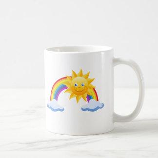 微笑の日光の虹 コーヒーマグカップ
