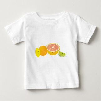 微笑の柑橘類 ベビーTシャツ