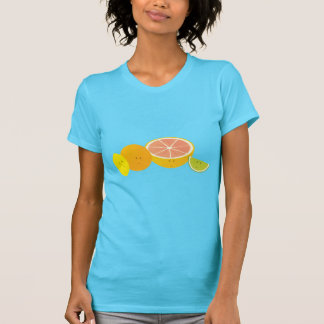 微笑の柑橘類 Tシャツ