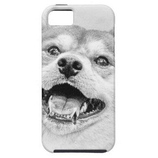 微笑の柴犬犬 iPhone SE/5/5s ケース