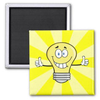 微笑の白熱電球 マグネット