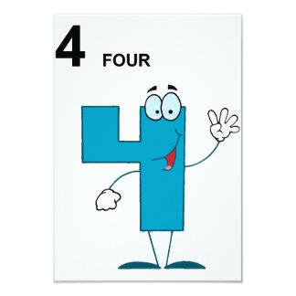 微笑の第4招待状 8.9 X 12.7 インビテーションカード