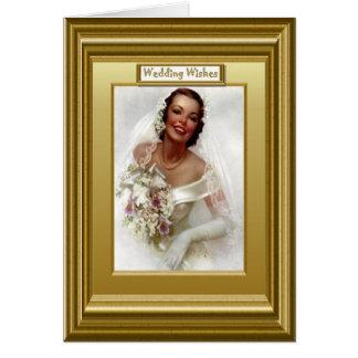 微笑の花嫁 カード
