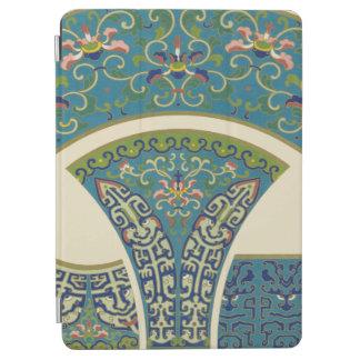 微笑の顔を搭載する青い東洋のデザイン iPad AIR カバー