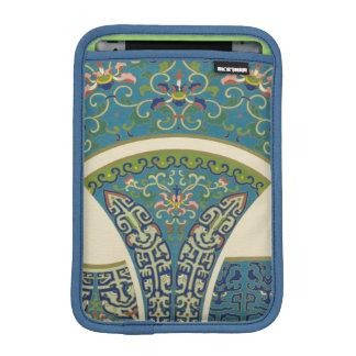微笑の顔を搭載する青い東洋のデザイン iPad MINIスリーブ