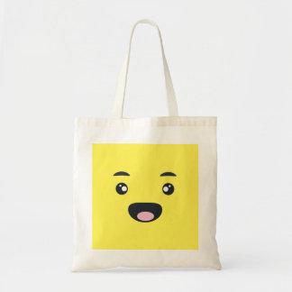 微笑のEmoji トートバッグ