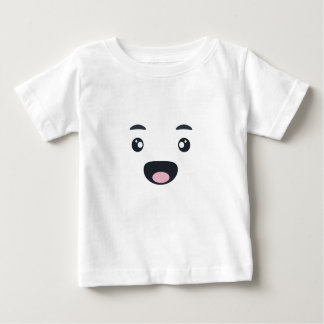 微笑のEmoji ベビーTシャツ