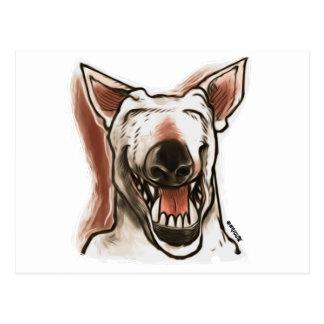 微笑犬 ポストカード