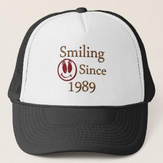微笑 キャップ