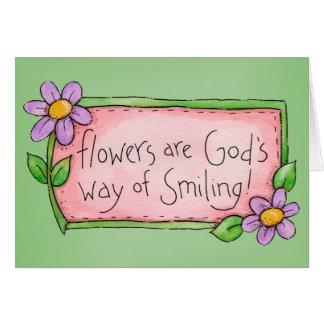 微笑-挨拶状 カード