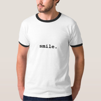 微笑 Tシャツ