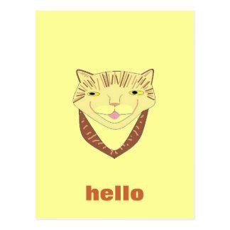 微笑Caatの顔 ポストカード