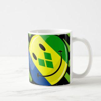 微笑St.ヴィンチェンツォおよびグレナディンの旗 コーヒーマグカップ