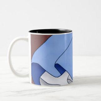 微風のスカート ツートーンマグカップ