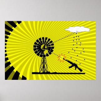 微風を撃つこと ポスター