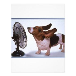 微風-犬およびファン レターヘッド
