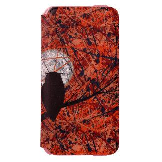 徹夜: 月光の~ (フクロウの芸術)の~を戦うことができません INCIPIO WATSON™ iPhone 6 ウォレットケース
