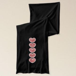 心からのハート スカーフ