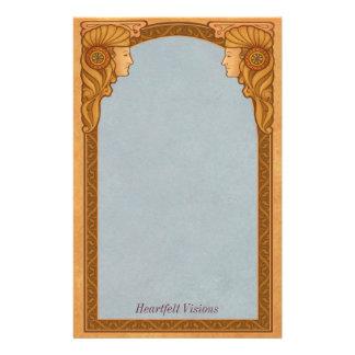 心からの視野- Decoの文房具 便箋