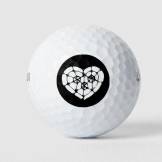 心があるガラス ゴルフボール