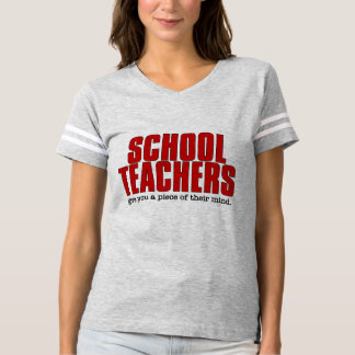 心のおもしろいな服装の学校の先生の部分 Tシャツ