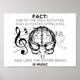 心のための音楽 ポスター