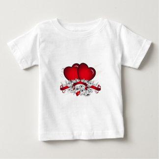 心のふれ合い ベビーTシャツ