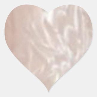 心のふれ合い-銀製の絹 ハートシール