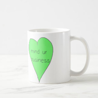 心のurビジネスマグ コーヒーマグカップ