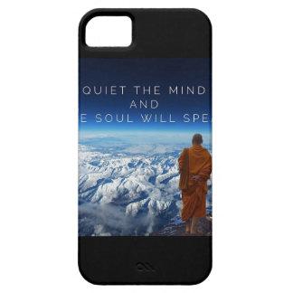 心を静めて下さい及び話します決定するべきです iPhone SE/5/5s ケース