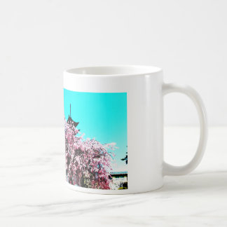 心地いい春の宮島☆厳島神社☆桜咲く写真☆写真加工品☆ コーヒーマグカップ