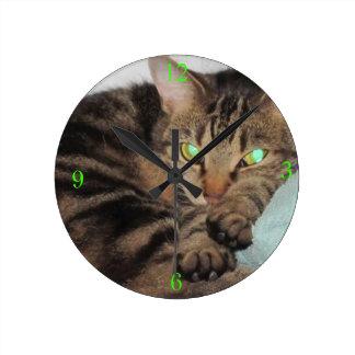 心地よいの時間柱時計 ラウンド壁時計