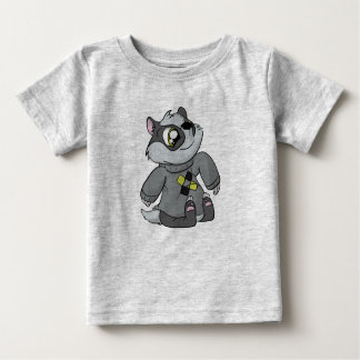 心地よいセーターのアナグマ! ベビーTシャツ