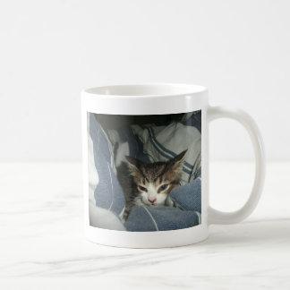 心地よい子ネコ コーヒーマグカップ