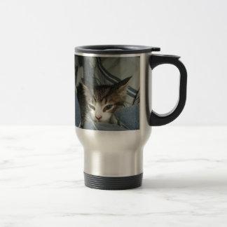 心地よい子ネコ トラベルマグ