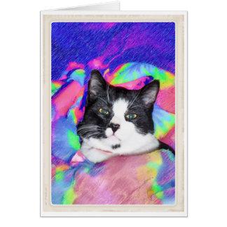 心地よい猫! カード
