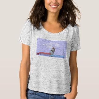 """心地よいTシャツの""""行った猫""""ポスター! Tシャツ"""