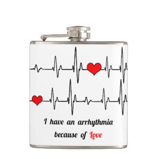 心拍の不整脈 フラスク